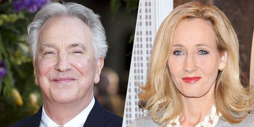 J.K. Rowling reveals the secret she told Alan Rickman about playing Severus Snape