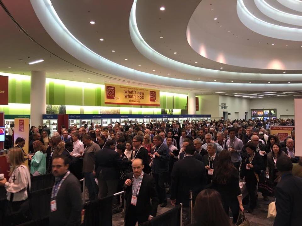 # 2 Day @ #wffs16. 19,000 food buyers from around the world tasting 180,000 amazing specialty foods. https://t.co/ry8Inoa23g