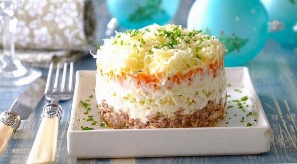 Вкусный салат мимоза рецепт с фото