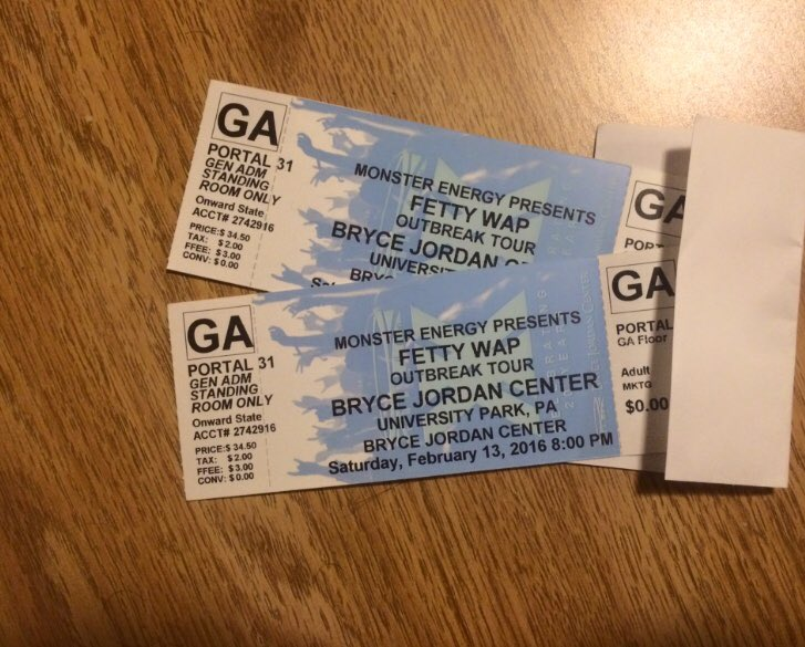 Retweet for a chance to win two tickets to see @fettywap at the @JordanCenter on Feb. 13. https://t.co/BZQgRqUqD7