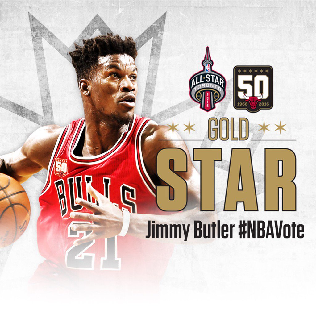 """Everyone retweet and vote for Jimmy Butler to start in the All-Star Game! #NBAVote"" https://t.co/n6CMsOjB94"