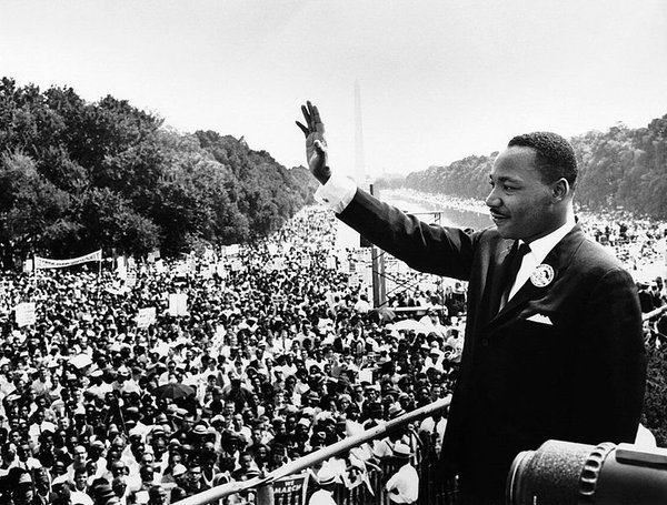 """I have decided to stick with love. Hate is too great a burden to bear."" #MLKDay #quoted https://t.co/8nRbArfc0d"