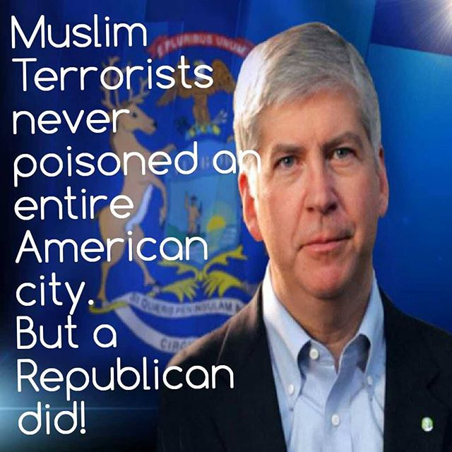 It was under a republican Governor in #FlintMichigan responsible for poisoning children. #ArrestGovSnyder  @cspanwj https://t.co/AgEsXgyMFO