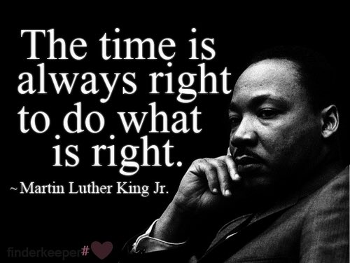 """Roberto Blizzard : @VeganYogaDude: RT@LeBronJames """"The time is always right, to do what is… https://t.co/n750YEefvC https://t.co/yl1gMpDZgu"""