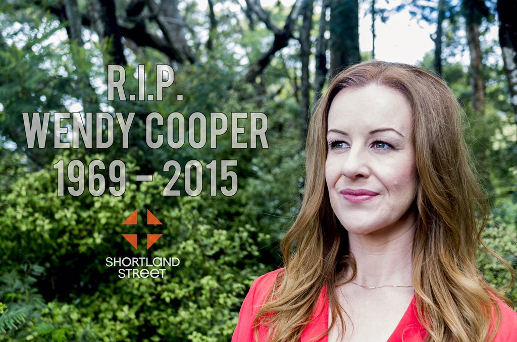 #ShortlandStreet #RIPWendyCooper https://t.co/QjOWKQwQBY