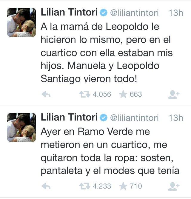 Sólo los COBARDES, son valientes contra los indefensos. Estamos con @liliantintori #Venezuela #ultraje #repudio https://t.co/6yvI4h3mMh