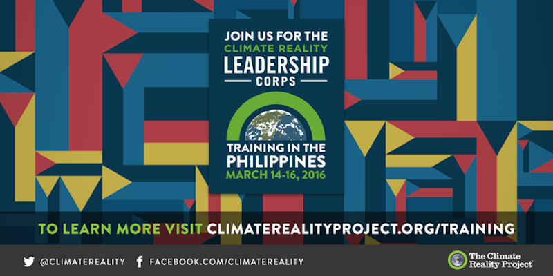 To fulfill the #ParisAgreement, we need citizen leaders more than ever. Join me at #CRinPH: https://t.co/9Ai2HKyUJk https://t.co/a6m4J4HHoZ