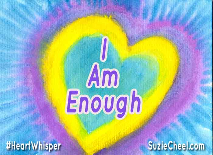 Do You Know and Believe You Are Enough? https://t.co/P5VC9YfUfw #heartwhipser #vibranthealth https://t.co/exX8ToZv8I