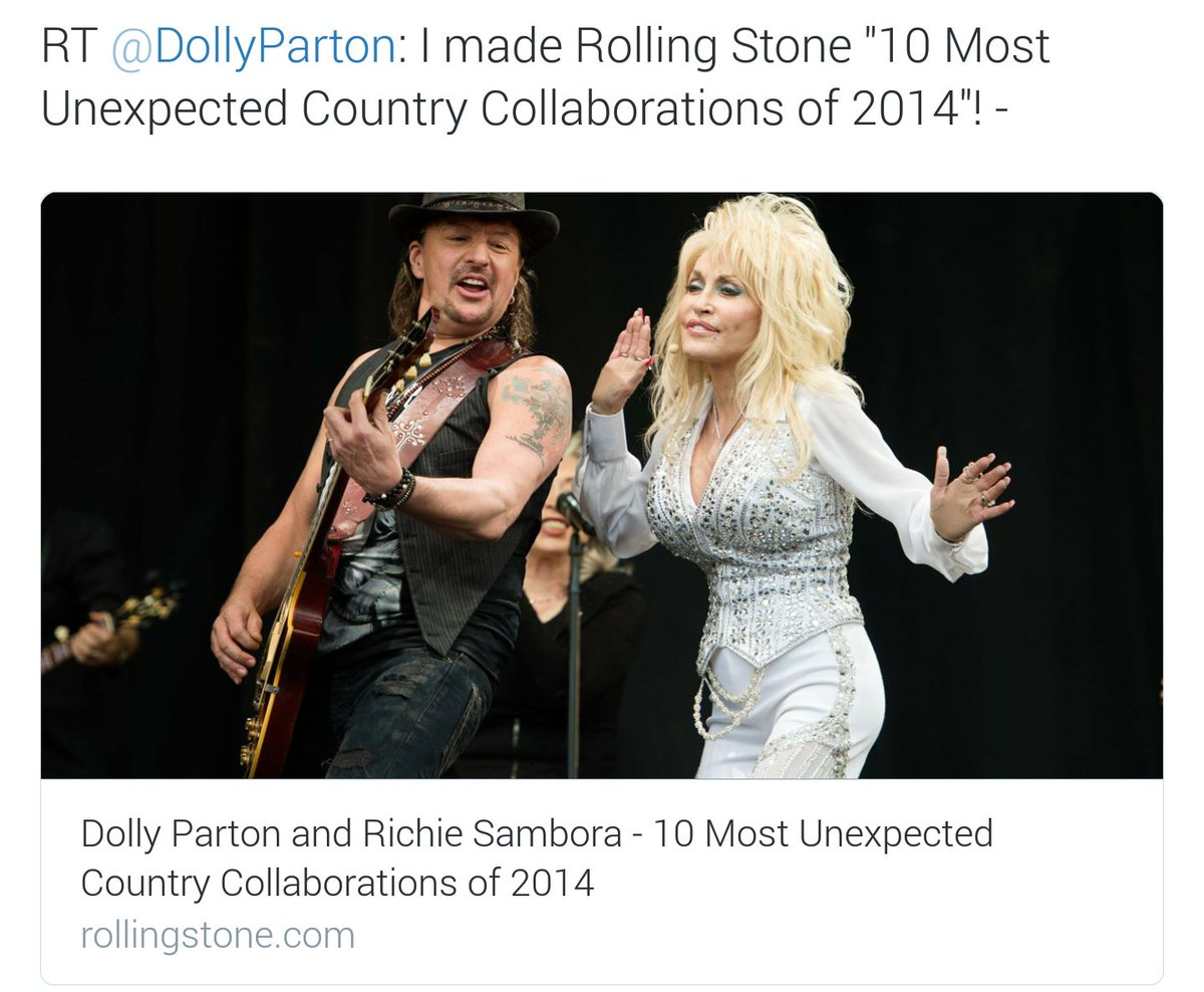 @DollyParton is the birthday girl today! Hope you have a Blessed day. Picture RT @DollyParton & @TheRealSambora  ✌❤