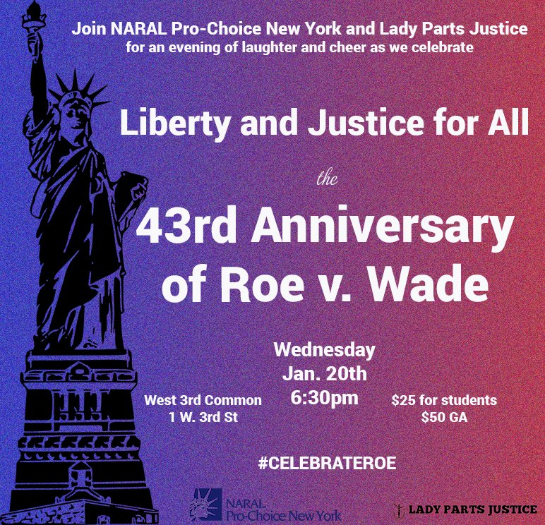TOMORROW! Join us & @LadyPJustice to #CelebrateRoe w games and prizes galore! https://t.co/wmJHyjMj32 @lizzwinstead https://t.co/M7OCrJg3Hr