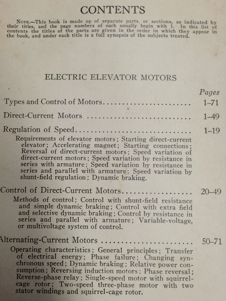 Leaving nothing to chance, the electric elevator manual opens by explaining the very concept of a table of contents. https://t.co/kL2aOSU3WJ