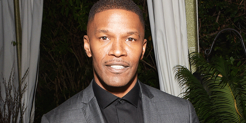 Jamie Foxx pulls driver from burning vehicle following car crash outside actor's home
