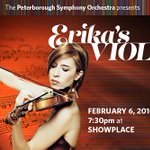 Saturday! Violinist Erika Raum performs her mothers concerto @ThePSO @PTBOShowplace #Ptbo - https://t.co/LIxtxUF6AC https://t.co/Cbbfno8vny
