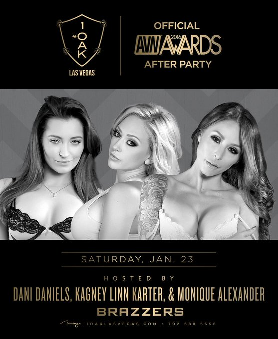 Who wants to party with @KagneyNecessary @moniquealexande @MissDaniDaniels and #Brazzers @1OAKLV this