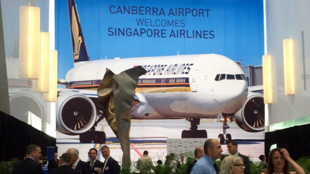 Singapore Airlines to begin Canberra international flights from September