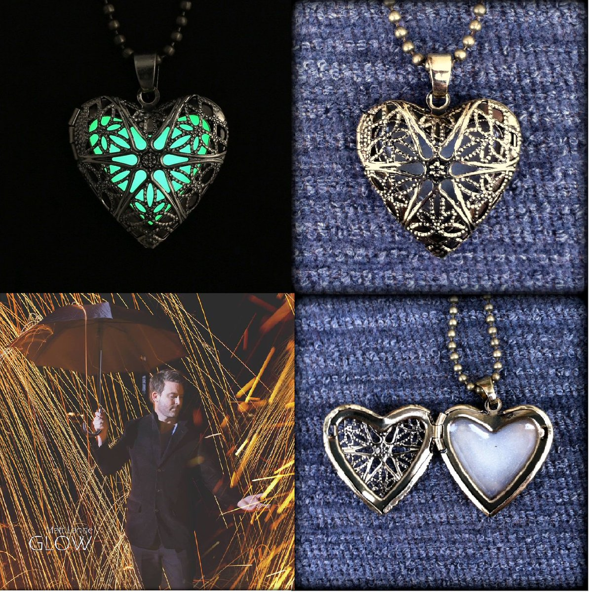 Giveaway Time! Win the Retro Heart Pendant & GLOW Album! 2 Rules for entry: Follow @mattlande & RT this post! :) https://t.co/R3mn6khbrD