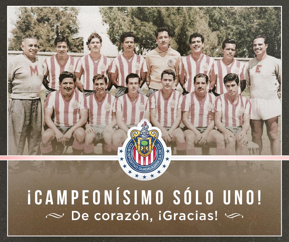 Siempre pensando en Chivas. #Campeonísimo https://t.co/zpvwD3fHrX