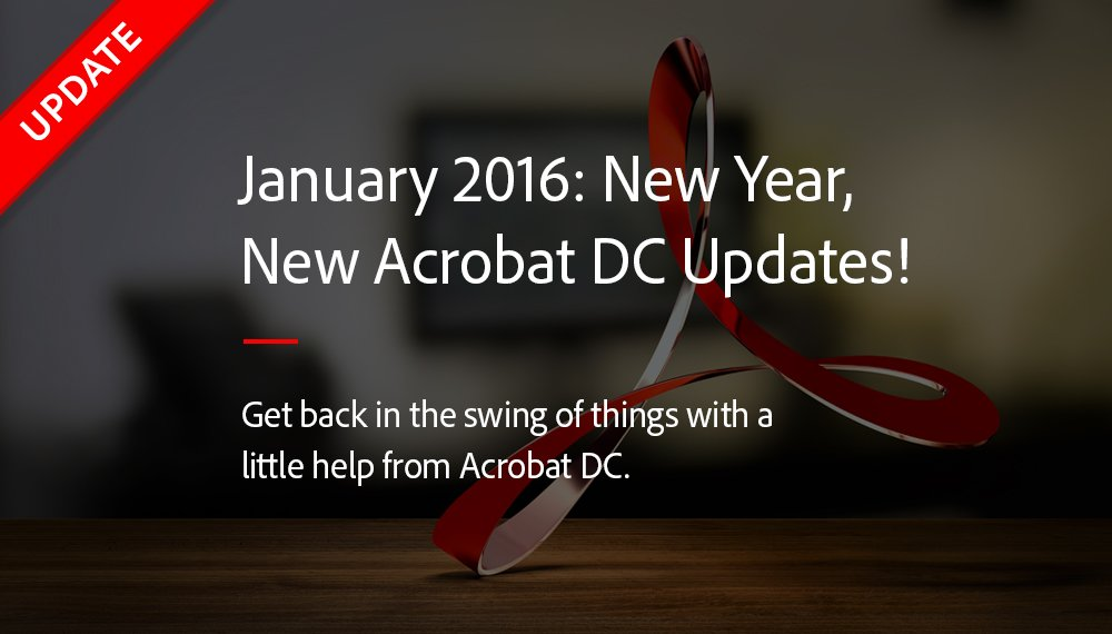 Get the latest Acrobat DC update. Office 365 shared reviews & Mac Office 2016 support. https://t.co/CqPBF2htmJ https://t.co/bVuI6cn81V