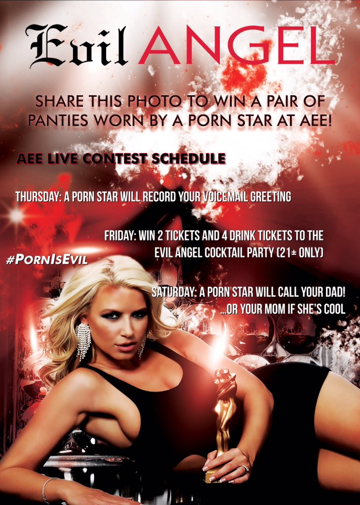 RT : CONTEST: post this photo, tag , and use #PornIsEvil for your chance