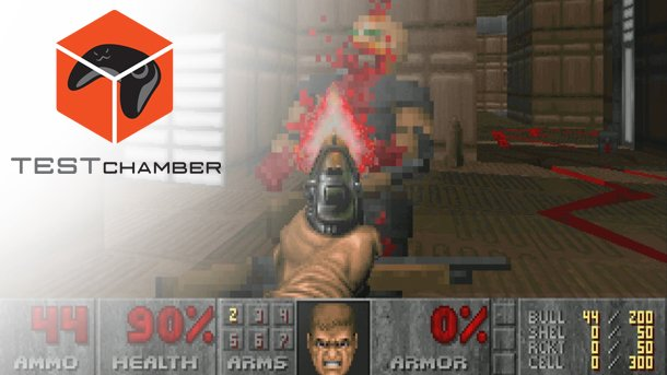 Played through @romero's new Doom level today and was amazed. Here's a brief look at it: https://t.co/Hdwvuu8xvG https://t.co/p5B94t6gUk