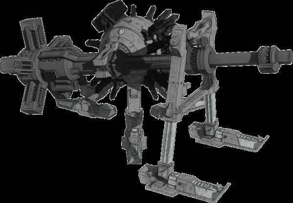 公式サイトを更新しました。オブジェクト「ブレイクキャリアー」掲載。でっかい主砲に足を生やした、まさに特化型の第二世代です