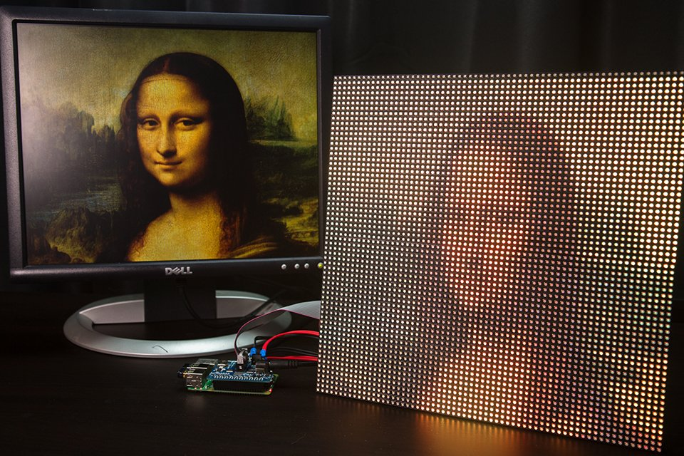 DIY Raspberry Pi LED Matrix Display: PiXels https://t.co/boT9cBZSIp https://t.co/Hkr5KUHZIG