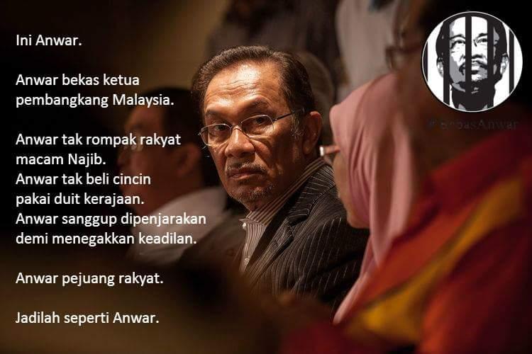 Dalam UMNO yg berani melawan @anwaribrahim sorang saja..yg lain semua pak hangguk bela perut! #BebasAnwar https://t.co/ebWcKmaImw