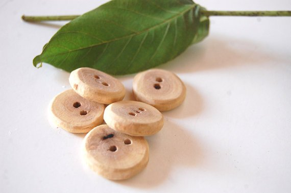 Walnut Wood Buttons Small Handcrafted Cute Buttons from https://t.co/Wnymk25wXW #handmade #knitting #crochet https://t.co/MySvYnoIYh