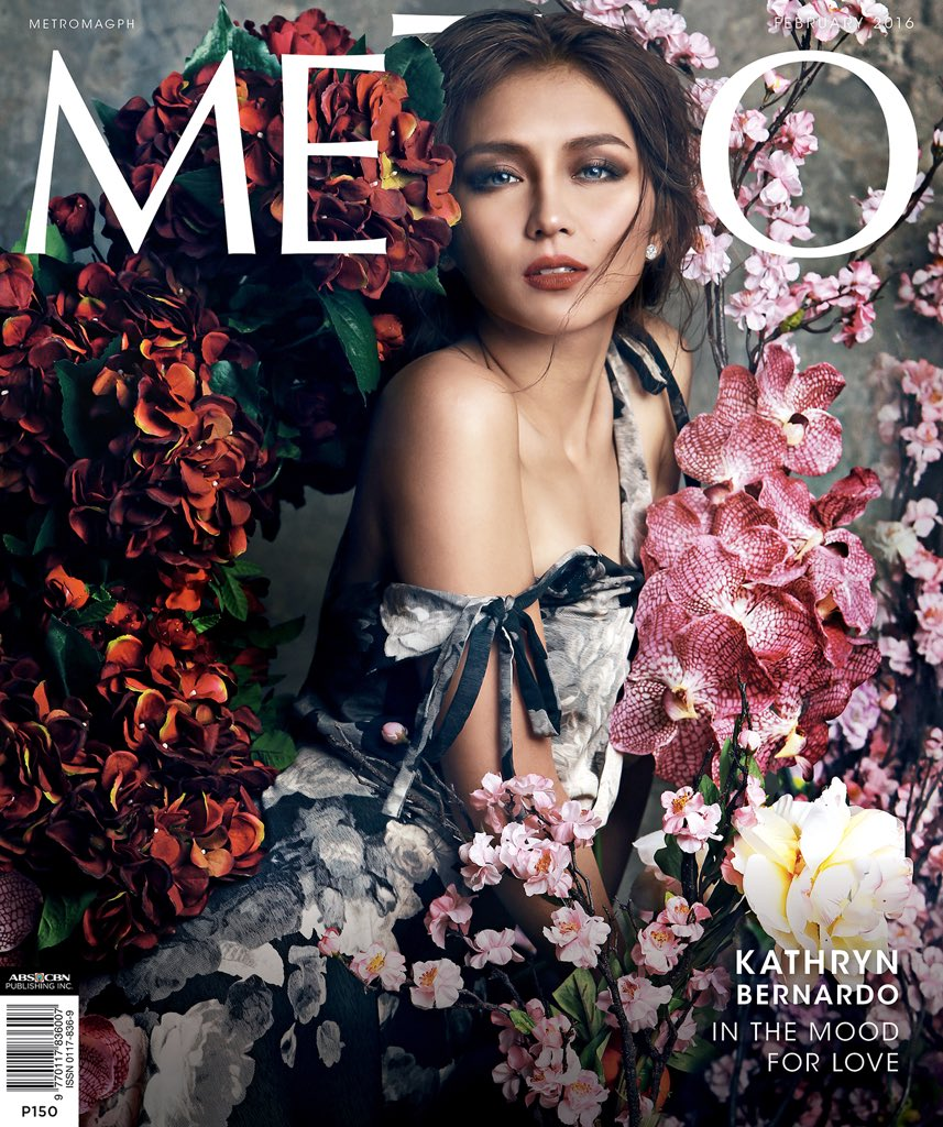 She's in the mood for love. #MetroLovesKathryn @bernardokath #KathrynBernardo is our #MetroFebruary2016 cover girl! https://t.co/LxIrKxmHHb