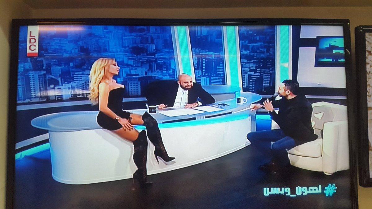 Lebanese TV is... something https://t.co/LvW5u0cMk2