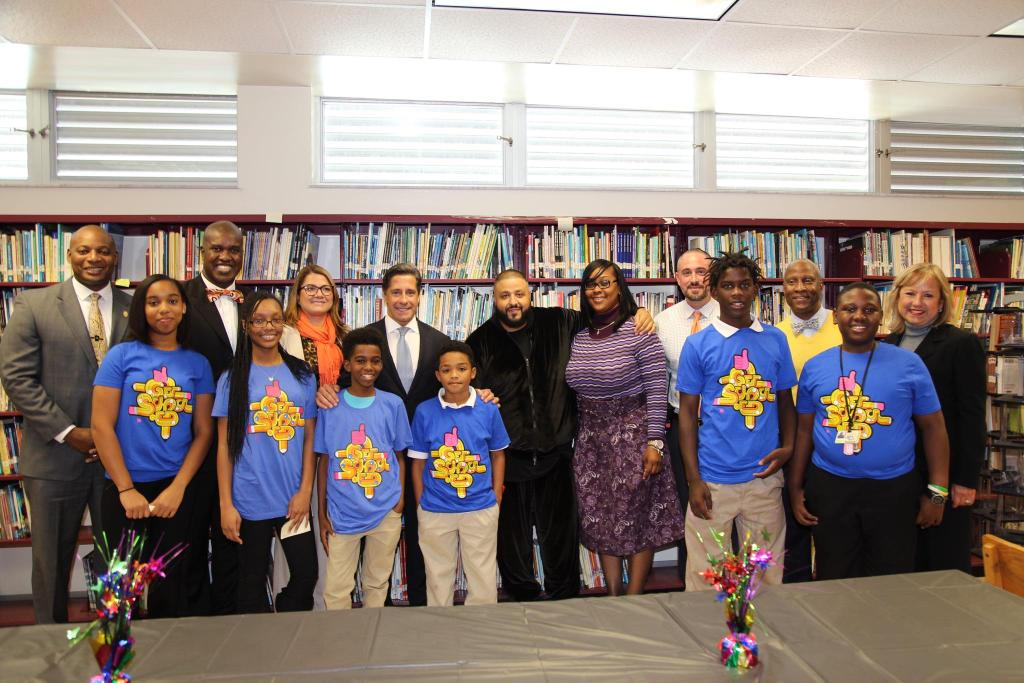 .@djkhaled serves as principal for the day as @getschooled recognizes @CarolCityMiddle as national attendance winner https://t.co/NX9FMAGQLb