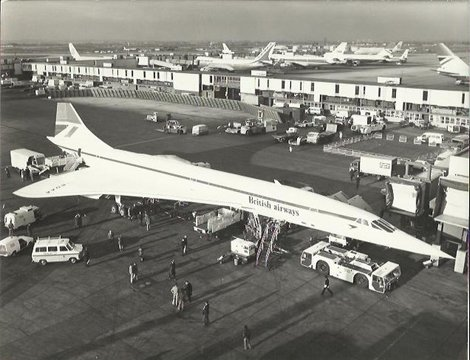 Celebrating the 40th anniversary of #Concorde @British_Airways https://t.co/IEFl6RTImI https://t.co/gFP2GKlMhF