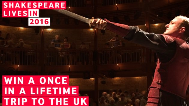 Want to win a trip to the UK? Enter @VisitBritain contest by Jan. 31st! https://t.co/0sQ68sA0K8 #ShakespeareLives https://t.co/fKdQZTVKv3