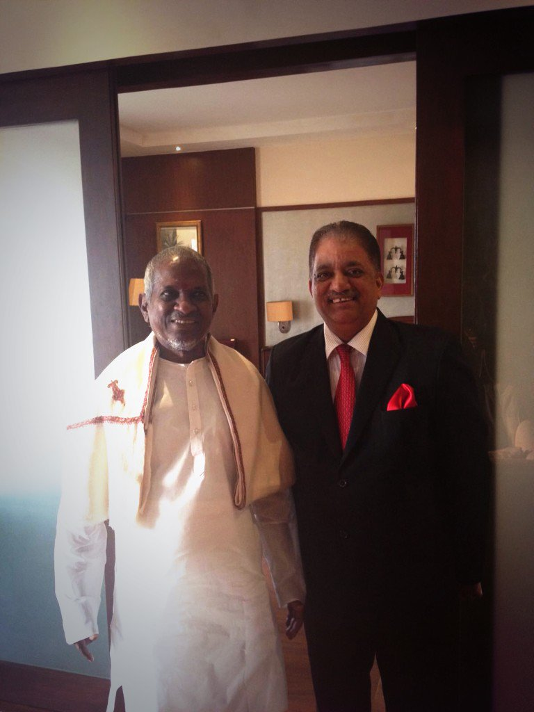 We were delighted to have the musical legend Ilayaraja visit us at Vivanta By Taj - Trivandrum. https://t.co/PO9ELTPOuN