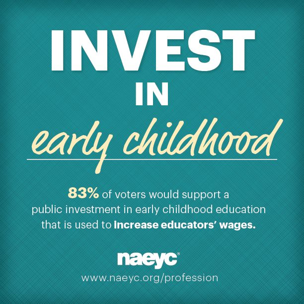 Investing in early childhood means investing in early childhood educators. Share if you agree! #ece https://t.co/HXwHhd909u