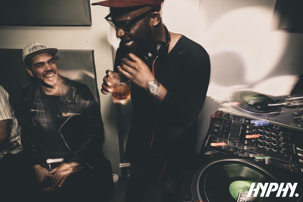 Running tunes last weekend w/ @djtayjames