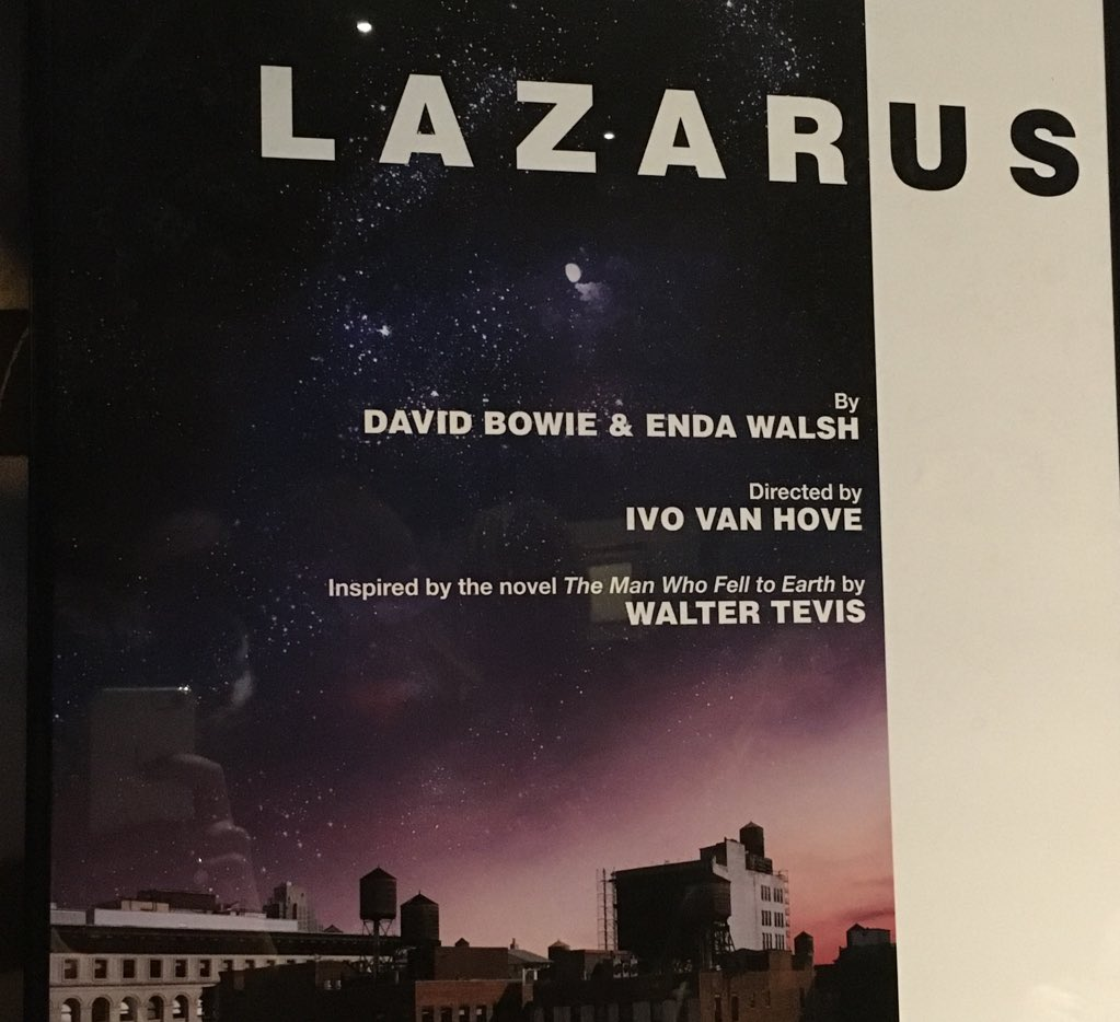 January 20, 2016 has been proclaimed David Bowie Day in New York City. Happy final performance Lazarus! #LazarusNYTW https://t.co/JaIxYoxxtD