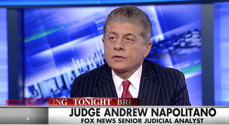 ".@Judgenap Evidence against @HillaryClinton is ""overwhelming"" and ""damning"""
