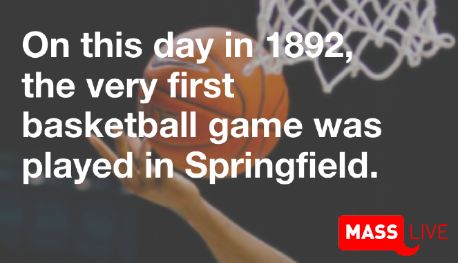 On this day in 1892, the first game of basketball was played in #Springfield. https://t.co/5oe1A5um4X https://t.co/6Ihv3I6FvY