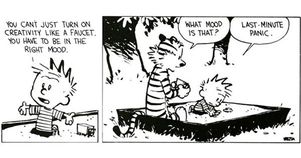 Calvin and Hobbes creator Bill Watterson's wonderful advice on life and creative integrity: https://t.co/NdIPEgElRK