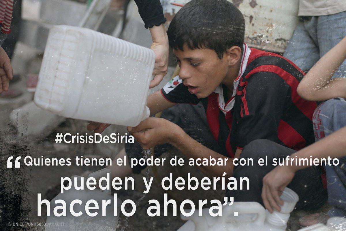 El mundo necesita escuchar una voz pública que exija el fin de la #CrisisDeSiria. RT apoya https://t.co/HyptAGL0hu https://t.co/e3o9HK6Fqk
