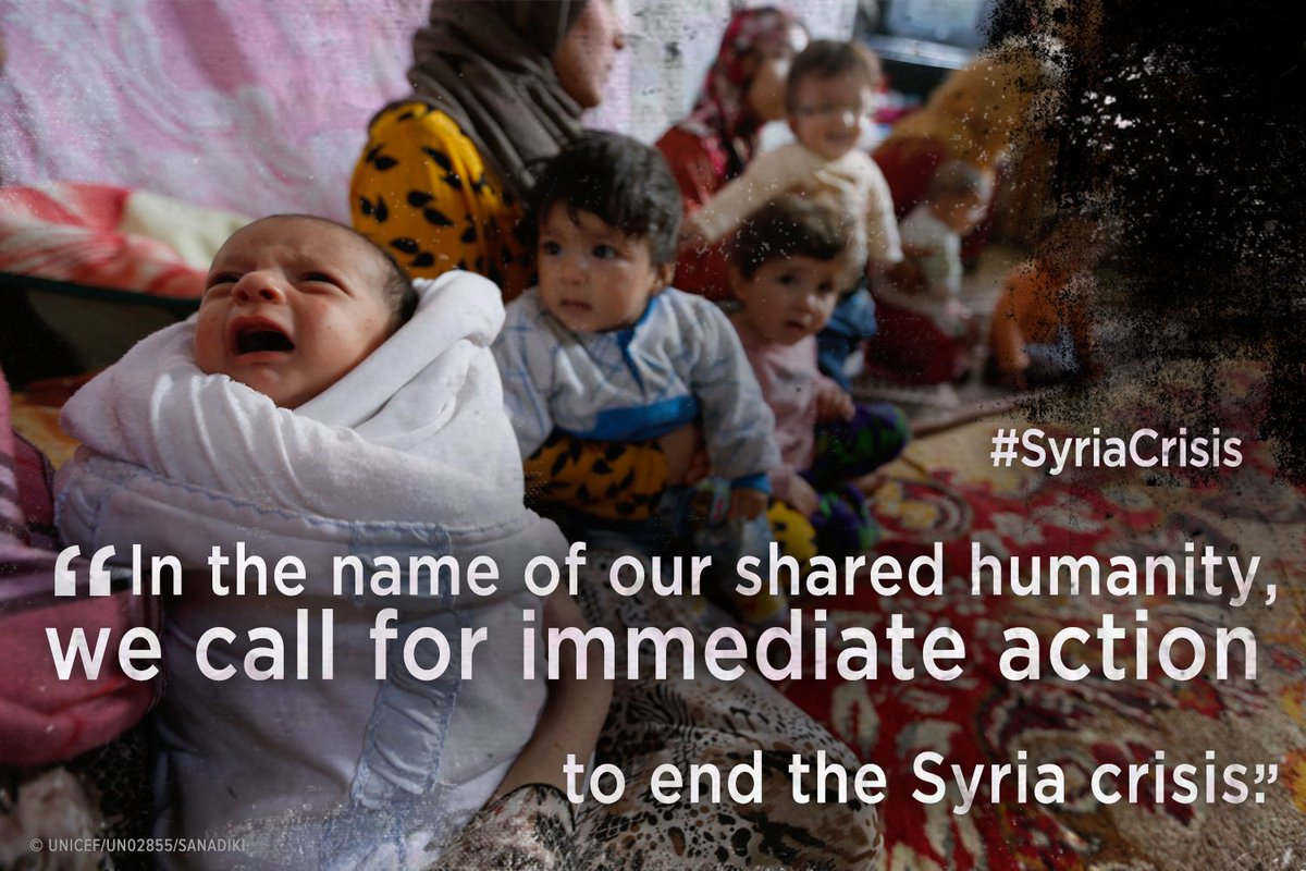 We appeal not only to governments but to each of you to speak out and help end #SyriaCrisis https://t.co/Oey4eAyiTc https://t.co/egeENTsa5V