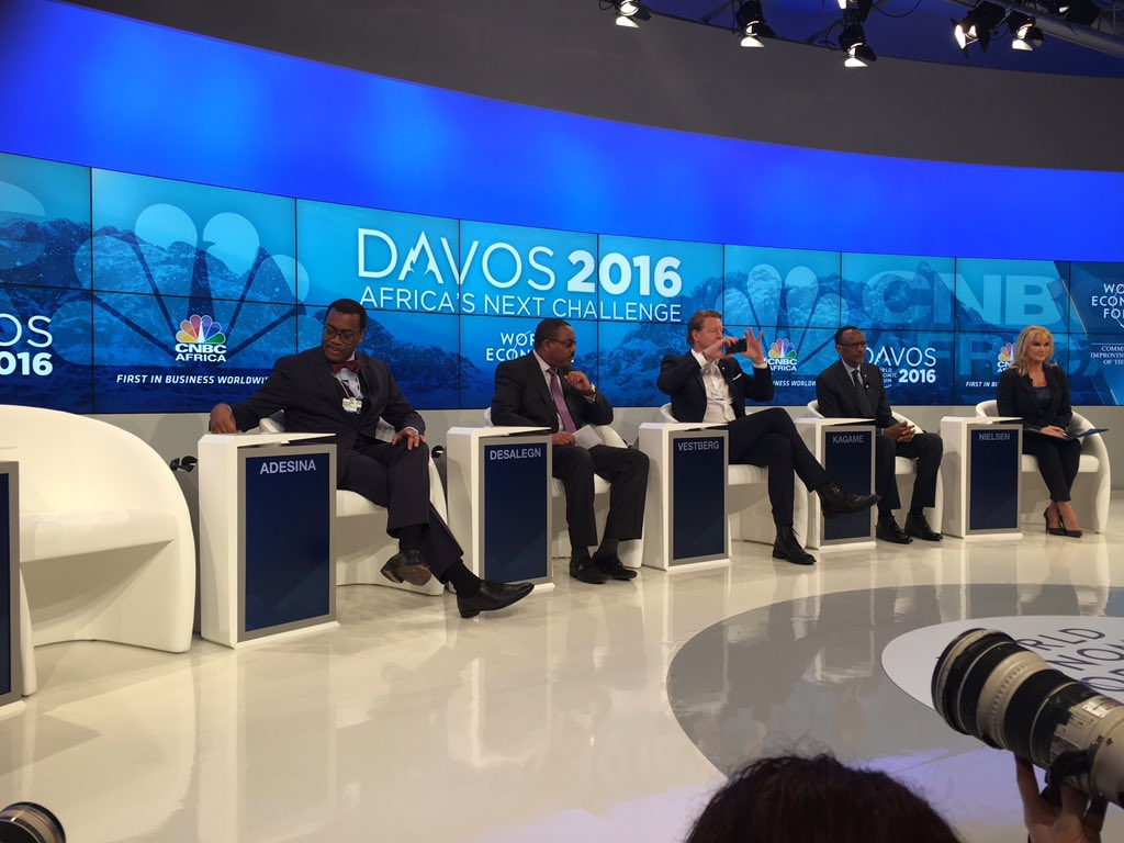 Africa's next challenge at Davos is to have women leaders in Session. Women leaders in deficit!#AfricaAtDavos #WEF16 https://t.co/HRrGIACCxj