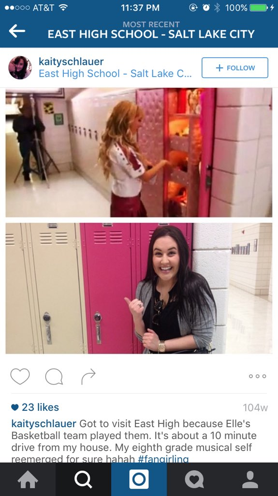 Incase you were wondering, Sharpay's locker at East High is still very pink. #hsm10 https://t.co/ZRohKsrgsF