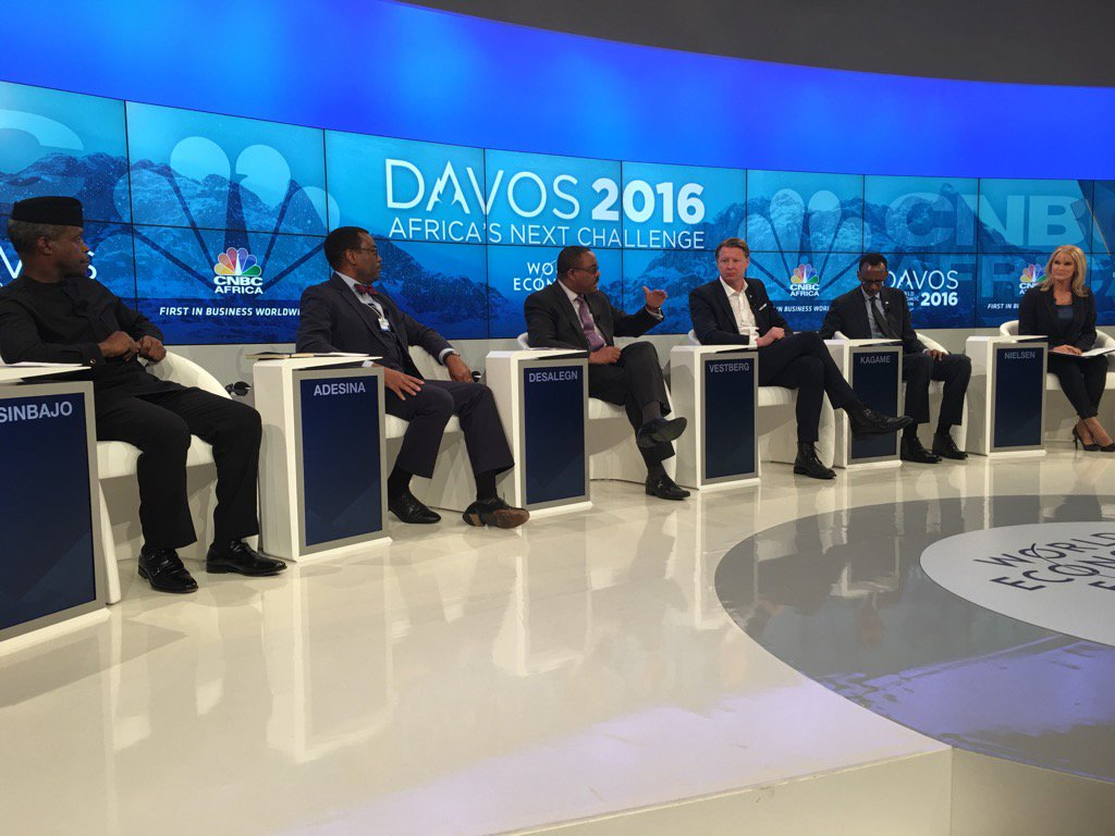 No African women leaders at One of the Key African session! 2nd year this is happening! #AfricaAtDavos #WEF16 #fail https://t.co/A8JDEtdYDJ