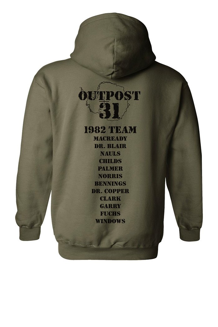 First RT comp of 2016. RT to get in draw for chance to win our The Thing inspired hoodie. #nerdohoutpost31 https://t.co/p0MSOM9Hnv