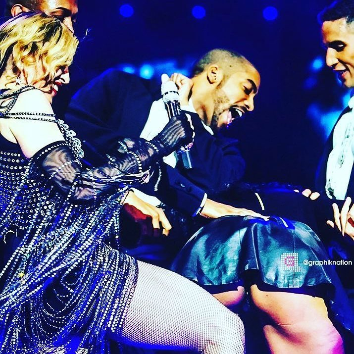 Tonight's Un-ApologeticBitch. She deserved a spanking????????????! Thanks Atlanta❌⭕️ we had FUN! ❤️ #rebelhearttour https://t.co/wbgEZFuRQe