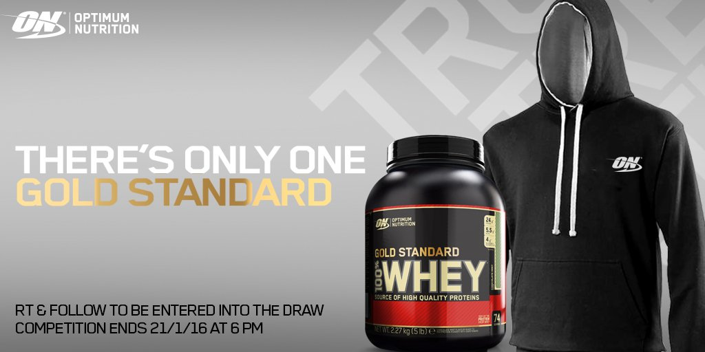 We're giving away a tub of Gold Standard Whey & ON Hoody - RT & Follow for your chance to #WIN #TeamON https://t.co/vWDNZ2LM1N