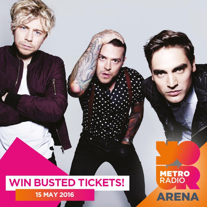 Last chance! RT/LIKE for chance to win 2x tix to #Busted & a signed poster - good luck!  https://t.co/xnWPyvLQQL https://t.co/AypvxyWTta