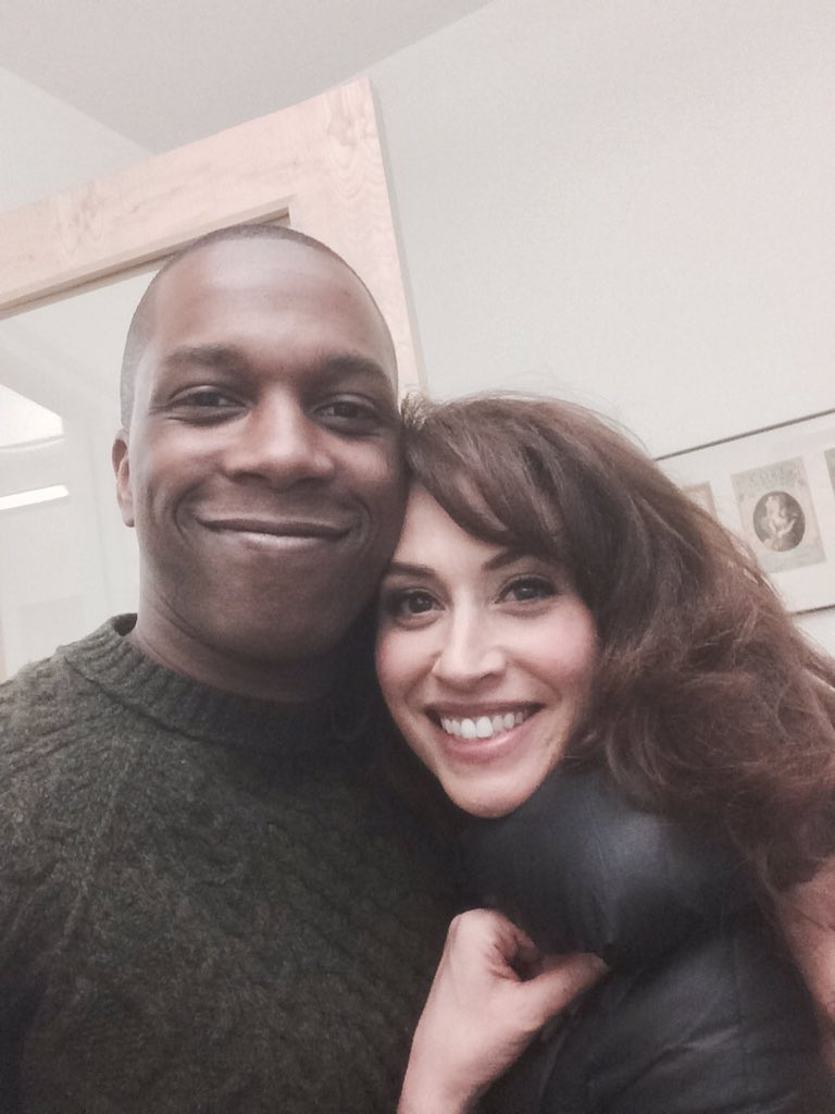 Spent the morning with @QueenLesli at @playbill listening to 90s R&B and answering questions on @tumblr 👌 https://t.co/hwLTznTRzV
